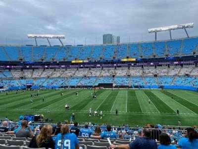 Bank of America Stadium section 342