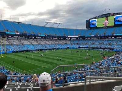 Bank of America Stadium section 323