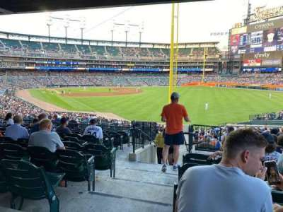 Comerica Park section 109