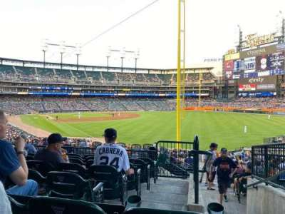 Comerica Park section 112