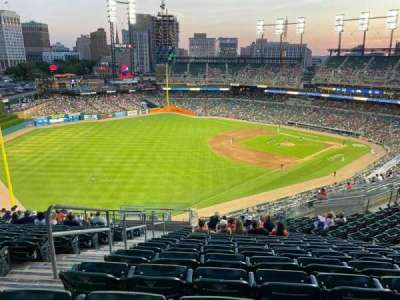 Comerica Park section 342