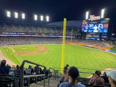 Comerica Park section 210