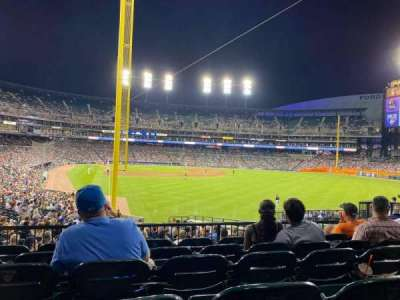 Comerica Park section 107