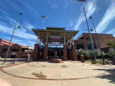 Chickasaw Bricktown Ballpark, section: Main Entrance
