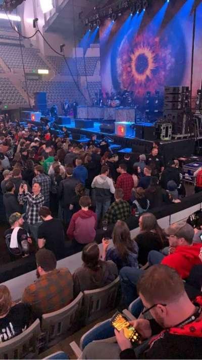 Allen County War Memorial Coliseum, section: 213, row: 5, seat: 9