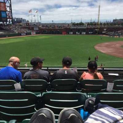 AT&T Park, section: 228, row: D, seat: 4