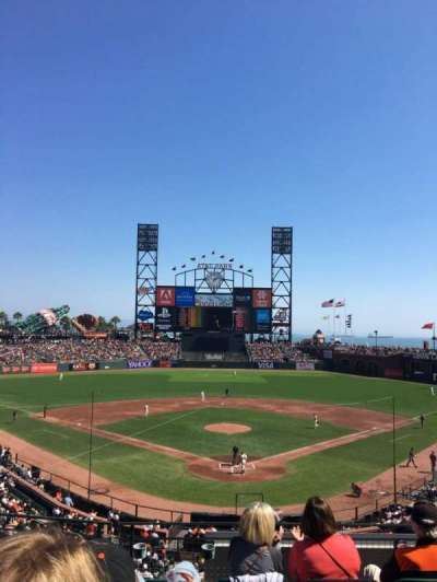 AT&T Park, section: 216, row: E, seat: 5