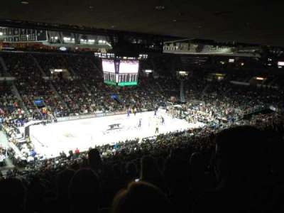 Dunkin' Donuts Center, section: 214, row: T, seat: 10