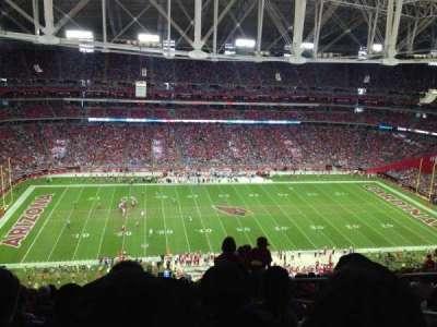 University Of Phoenix Stadium, section: 415, row: 19, seat: 4