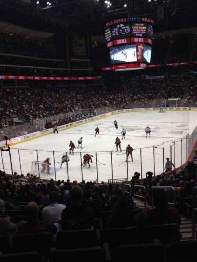 Gila River Arena, section: 116, row: T, seat: 3