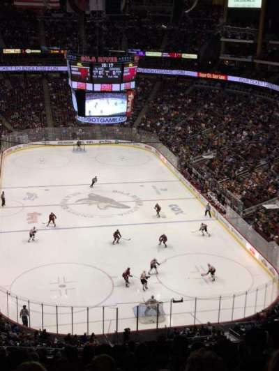 Gila River Arena, section: 209, row: N, seat: 10