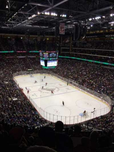 Gila River Arena, section: 226, row: K, seat: 3