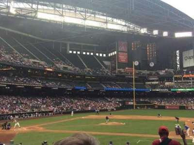Chase Field, section: 116, row: 23, seat: 6