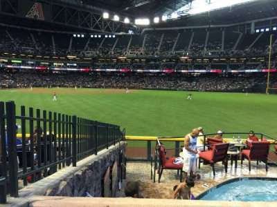 Chase Field, section: 101, row: 22, seat: 2