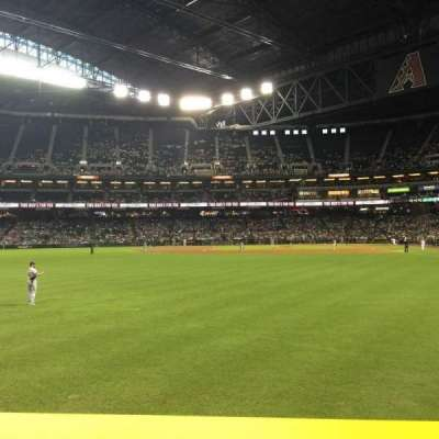 Chase Field, section: 140, row: 12, seat: 17