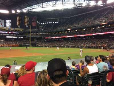 Chase Field, section: Q, row: 11, seat: 2