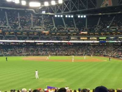 Chase Field, section: 141, row: 32