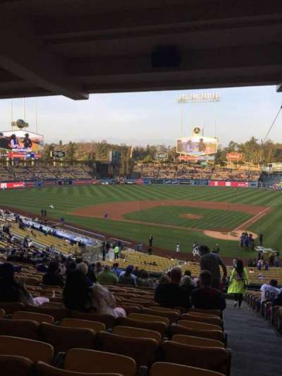 Dodger Stadium, section: 113LG, row: T, seat: 1