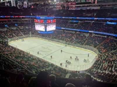 Verizon Center section 404