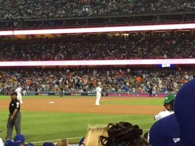 Dodger Stadium section 41FD