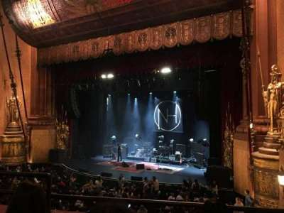 Beacon Theatre section LOGE 4