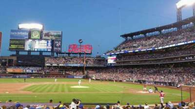 Citi Field, section: 121, row: 12, seat: 7