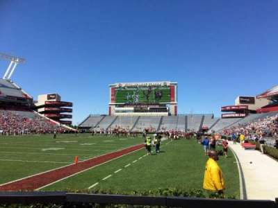 Williams-Brice Stadium, section: 15, row: 6, seat: 7