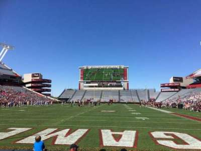 Williams-Brice Stadium, section: 13, row: 5, seat: 18
