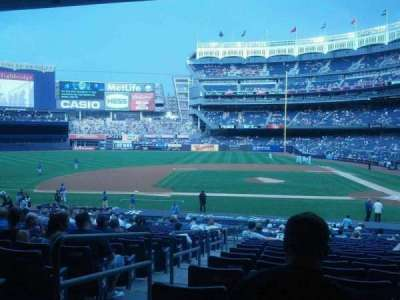 Yankee Stadium, section: 123, row: 29, seat: 14