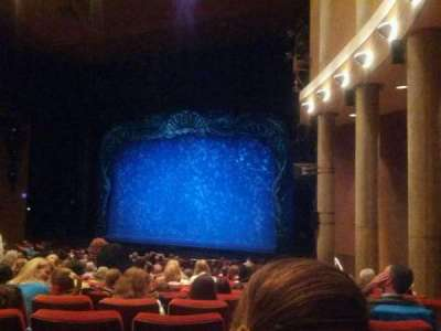 Paper Mill Playhouse, section: Orchestra 2, row: X, seat: 26