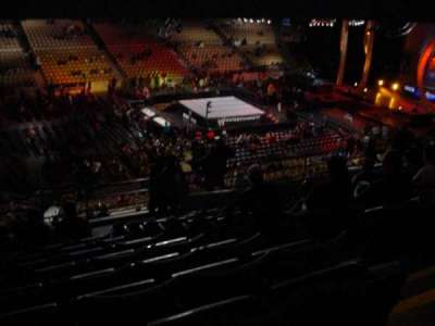 DCU Center, section: 238, row: 12, seat: 4