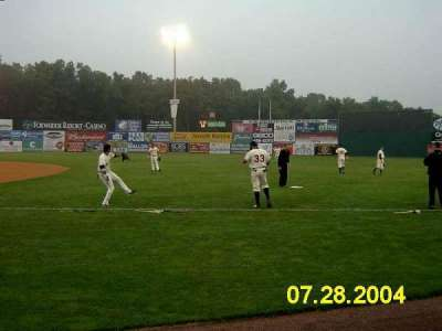 Dodd Stadium, section: 4, row: 1