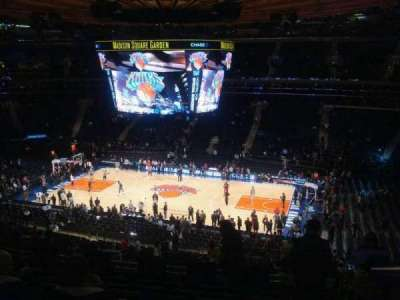 Madison Square Garden, section: 225, row: 8, seat: 1