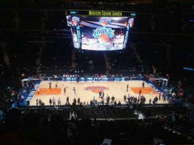 Madison Square Garden, section: 224, row: 7