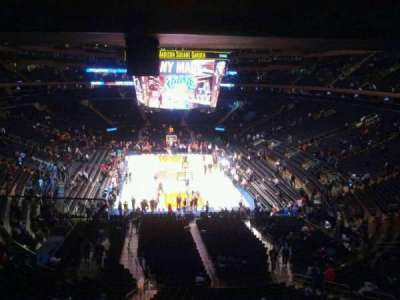 Madison Square Garden, section: 217, row: 5