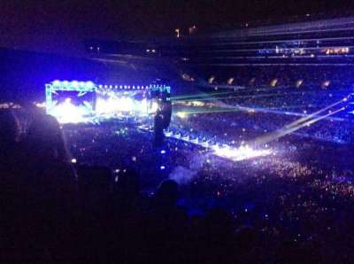 Soldier Field, section: 332, row: 11, seat: 8