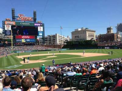 Comerica Park, section: 125