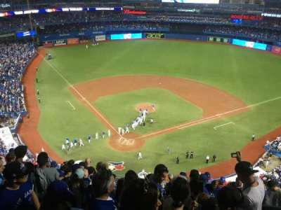 Rogers Centre, section: 523L, row: 13, seat: 102