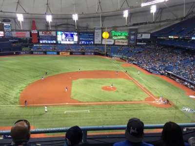 Tropicana Field, section: 311, row: C, seat: 16