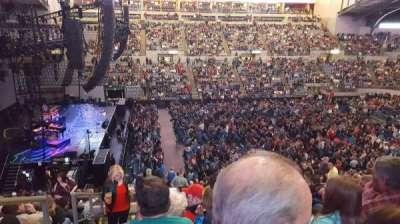 Allen County War Memorial Coliseum, section: 214, row: 23, seat: 14
