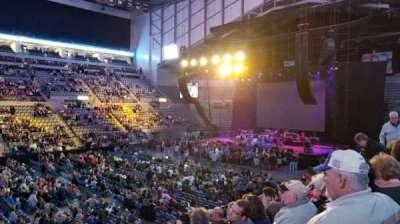 Allen County War Memorial Coliseum , section: 219, row: 13, seat: 1