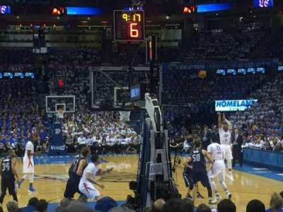 Chesapeake Energy Arena, section: 101, row: LL, seat: 6