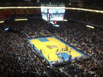 Chesapeake Energy Arena section 318