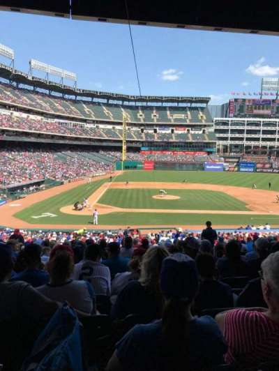 Globe Life Park in Arlington, section: 132, row: 33, seat: 1