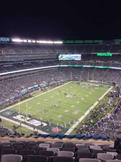 MetLife Stadium section 322