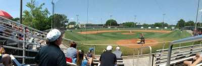Fred Stillwell Stadium, section: Behind Home Plate, row: 6