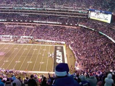 MetLife Stadium section 335