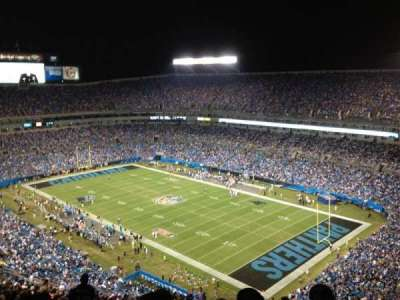 Bank of America Stadium section 535