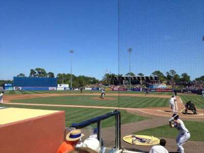 Tradition Field, section: 104, row: D, seat: 8