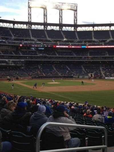 Citi Field, section: 107, row: 26, seat: 2